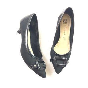 Shoes - Ann Klein IFlex Kitten Heel Point Toe Pumps 6 M